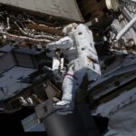 NASA astronauts finish ISS battery upgrades and replace cameras