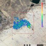 """GHGSat-C2 """"Hugo"""" Hugo delivers first methane plume image"""