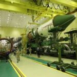 General assembly of the Soyuz-2.1a ILV with Progress MS-16 TGK